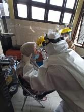 Kegiatan SWAB TEST seluruh karyawan UPT Puskesmas Pakualaman