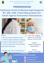 VAKSINASI COVID-19 MASSAL KEMANTREN PAKUALAMAN